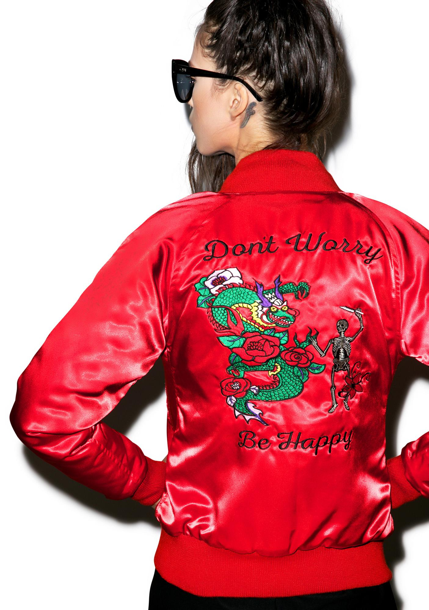 Valfré Don't Worry Satin Jacket