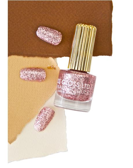 The Pink Nugget Glitter Nail Polish