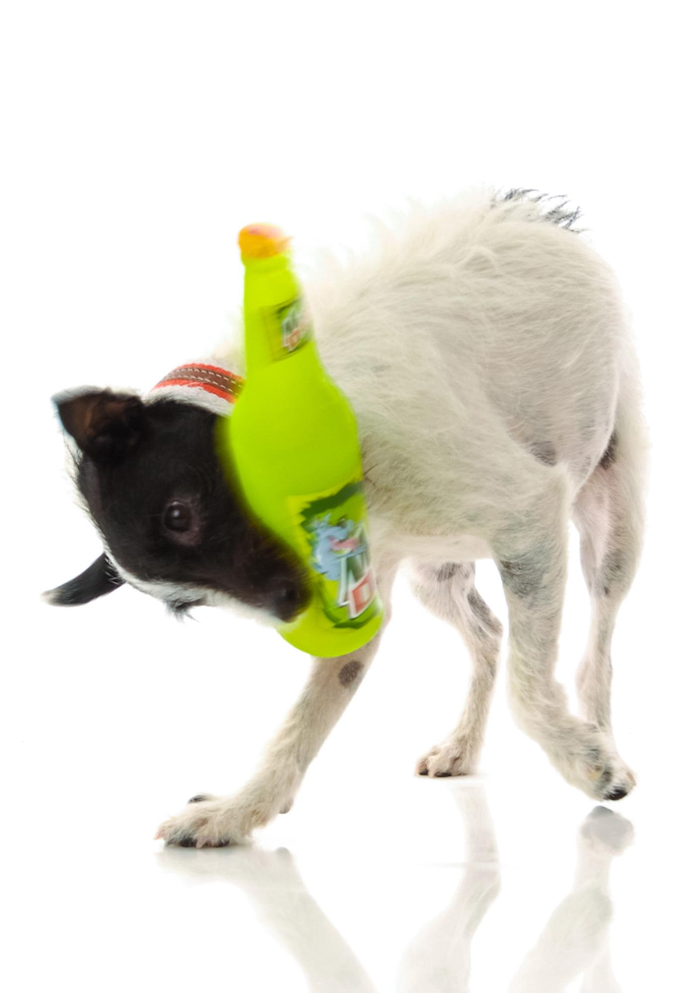 Mountain Drool Bottle Squeeker Dog Toy