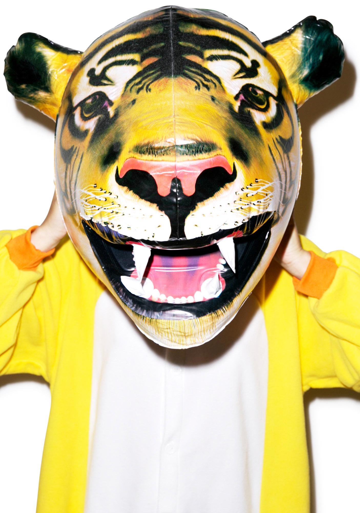 Eye of the Tiger Inflatable Head