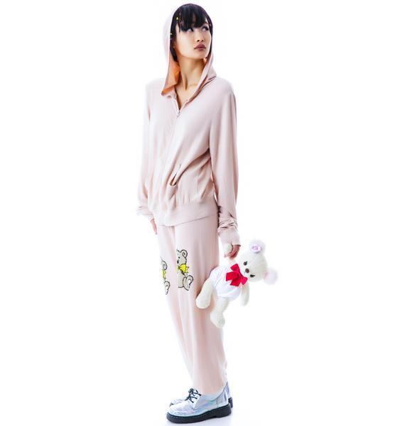Wildfox Couture Teddy Pants Gidget Sweats