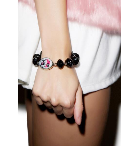 Tarina Tarantino Gothic Lolita Rose Bracelet
