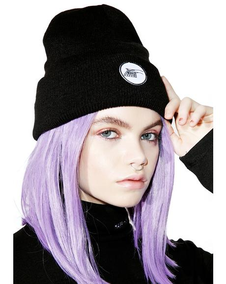 Hand Patch Beanie