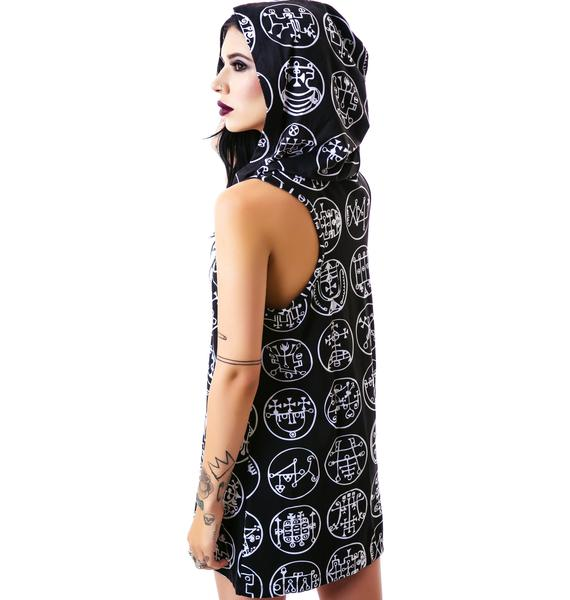 Killstar Goetia Hood Tank Dress
