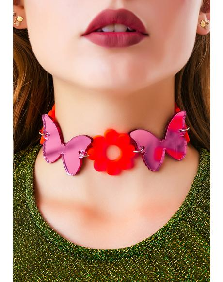 Madame Butterfly Dreamz Choker