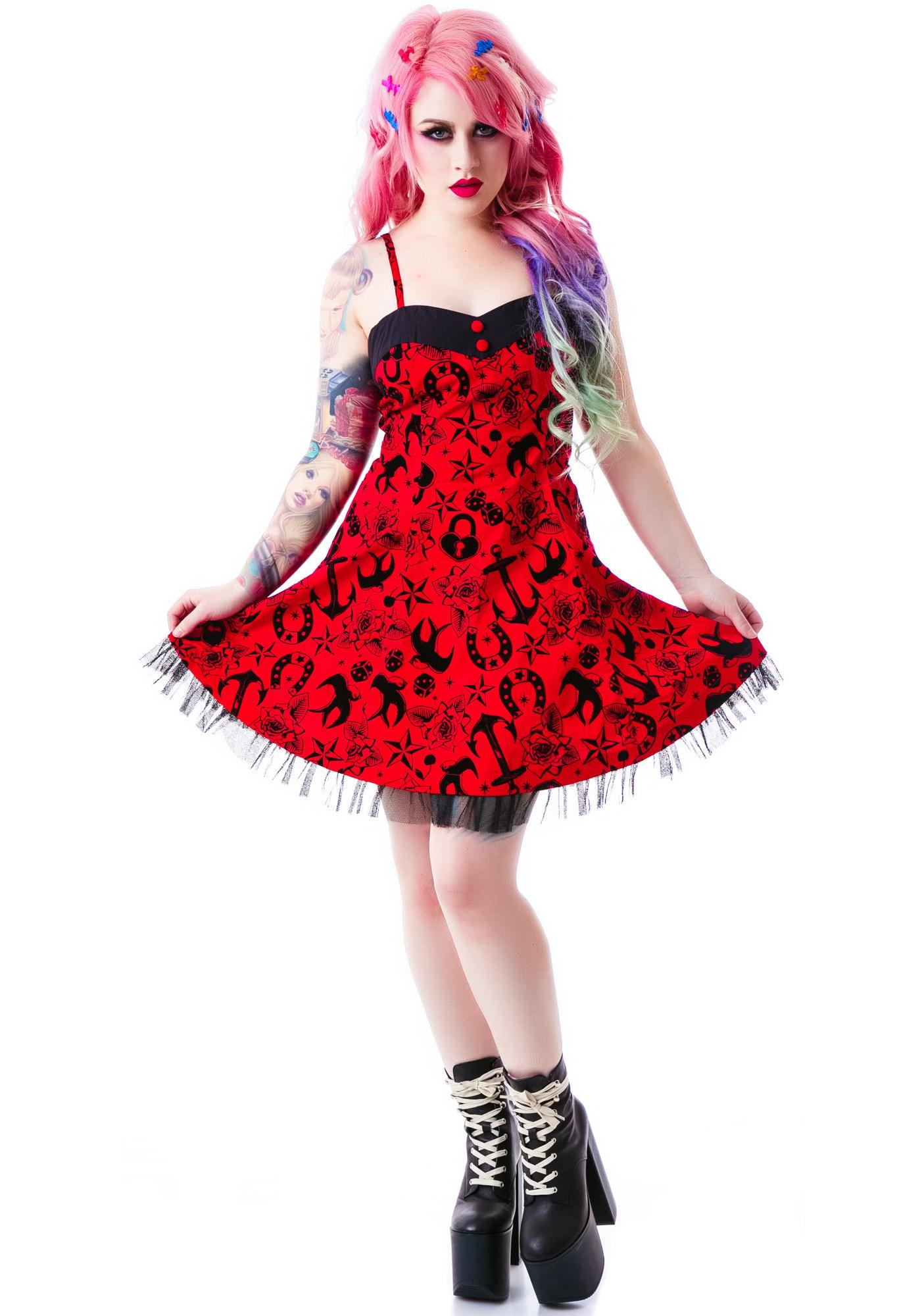Hell Bunny Liv Mini Dress