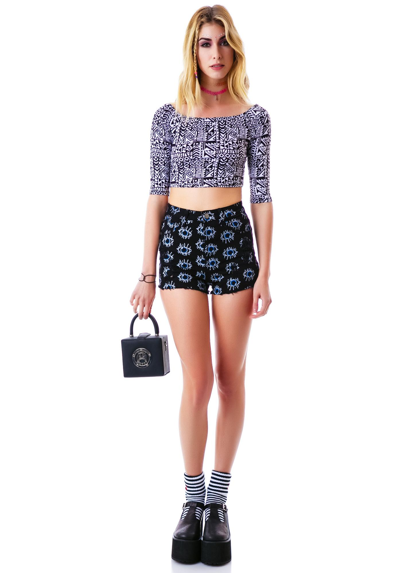 Wild Out Crop Top