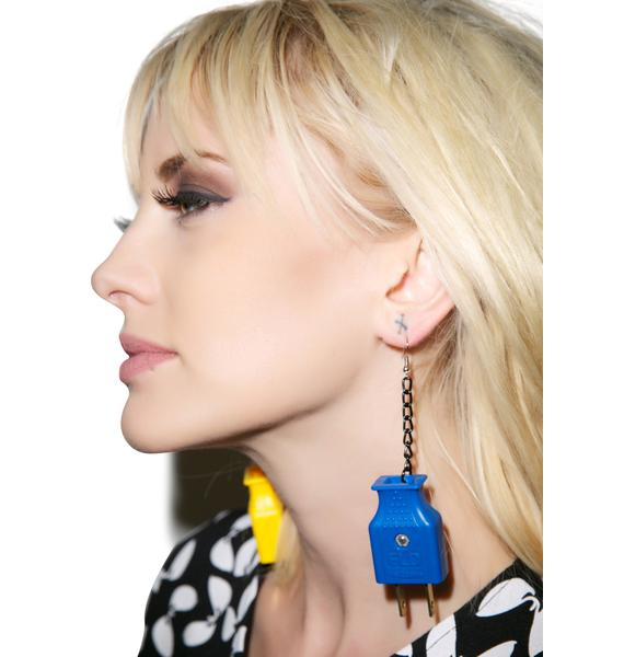 Need An Outlet Earring