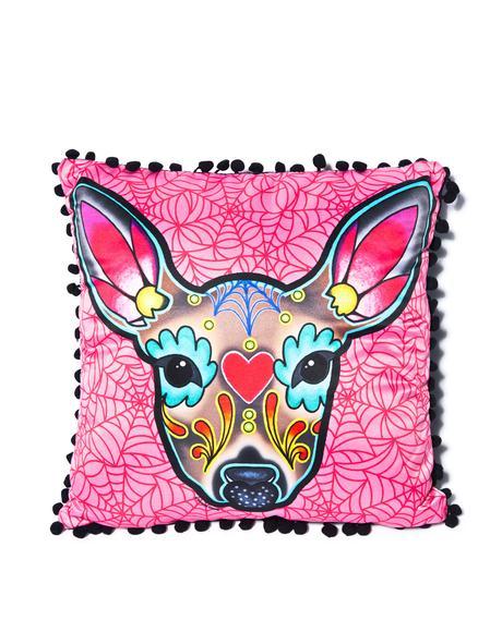 Deer Woodland Pillow