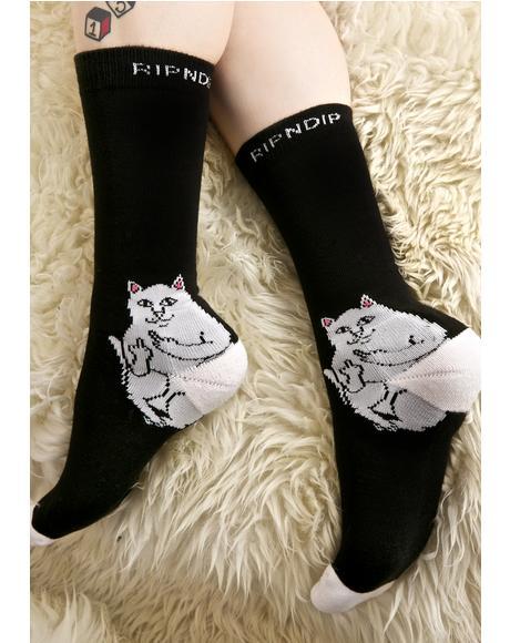 Lord Nermal Socks