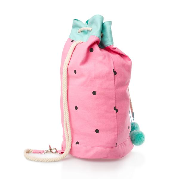 Lazy Oaf Watermelon Duffel Bag