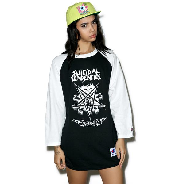 Suicidal Tendencies Possessed Tour Raglan