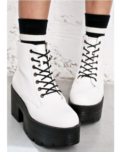 Easy Ryder Platform Boots