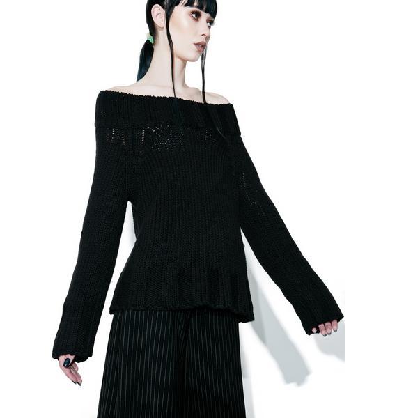 Kensie Off-Shoulder Sweater