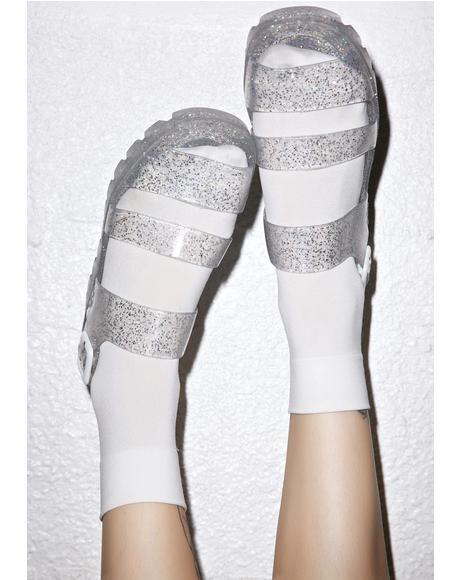 Poppy Jelly Sandals
