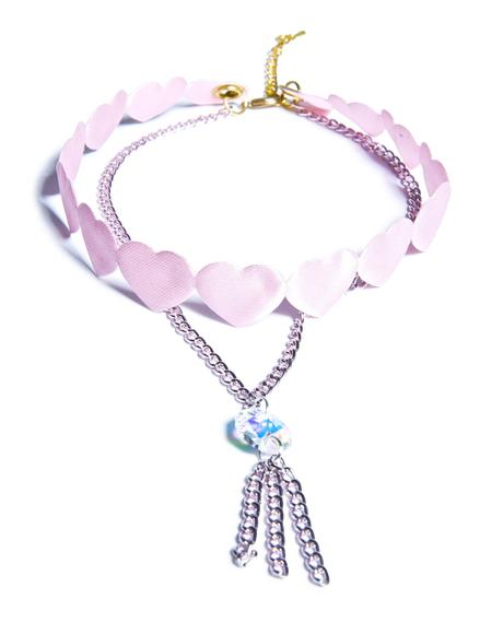 Be Mine Heart Choker