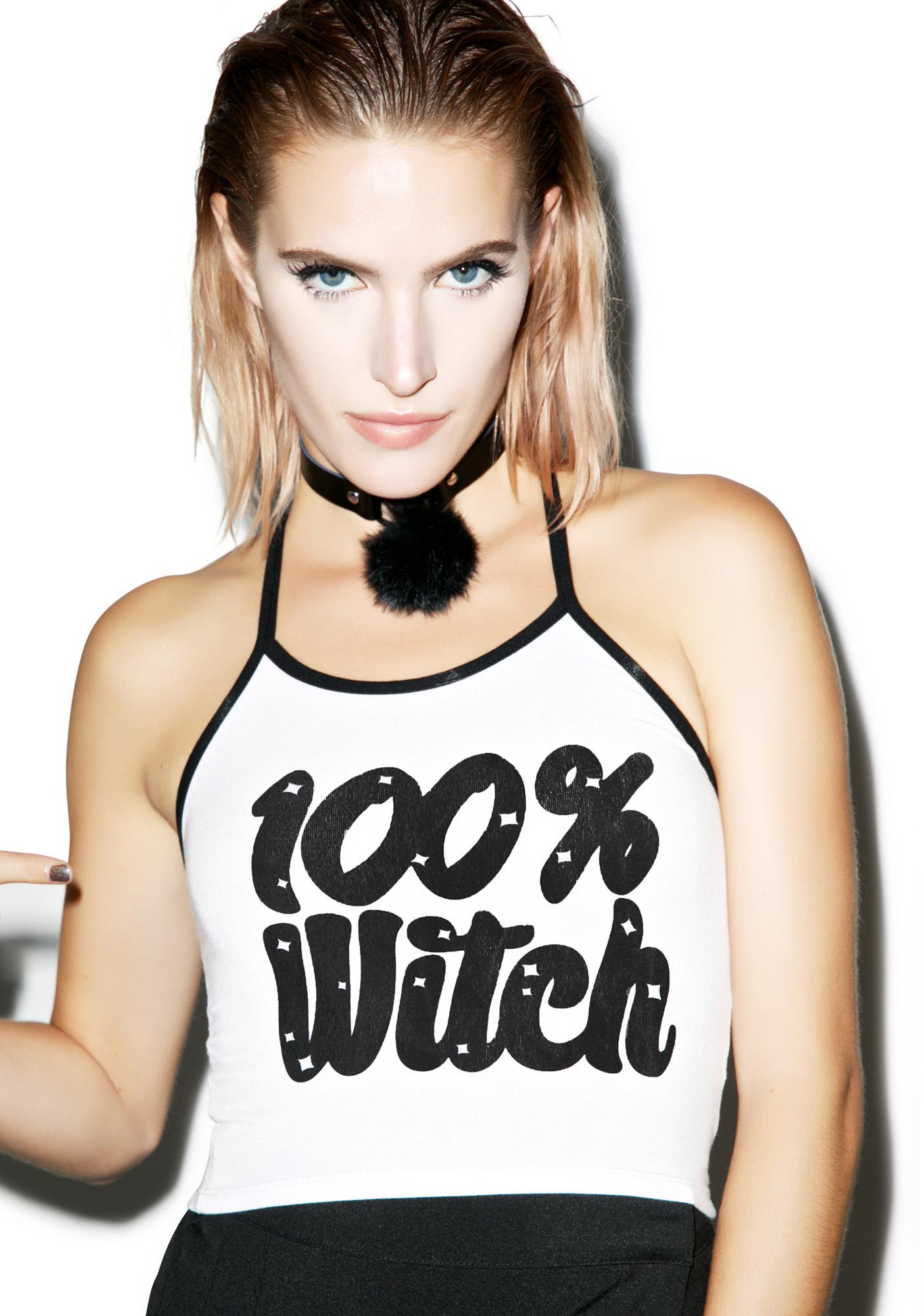 O Mighty Total Witch Halter Top