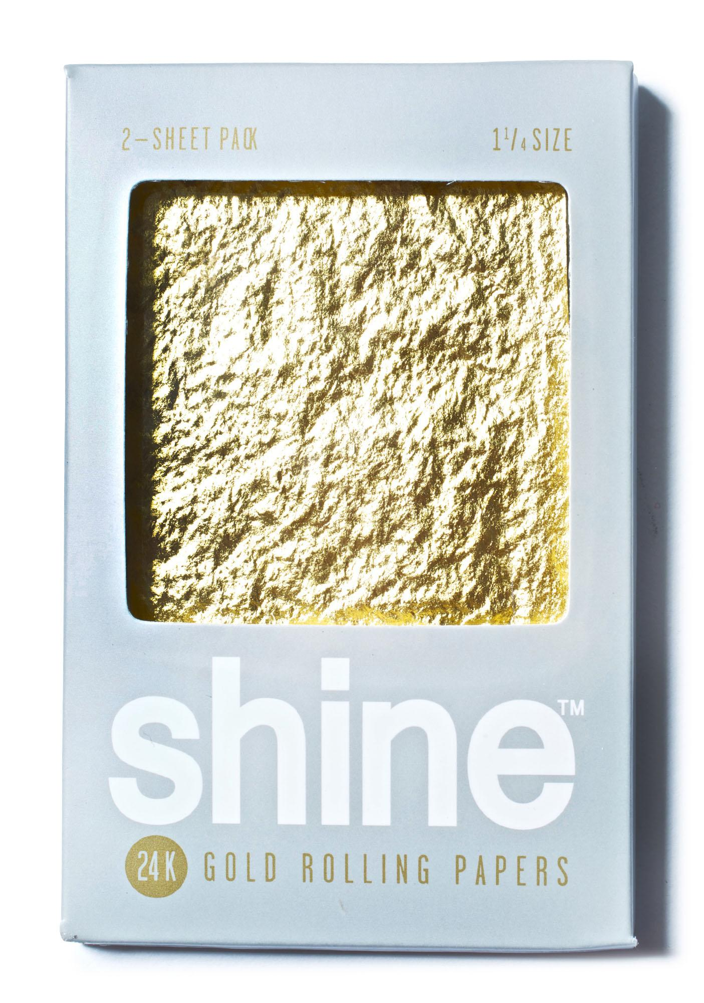 Shine 24k Gold Papers 2-Sheet Pack