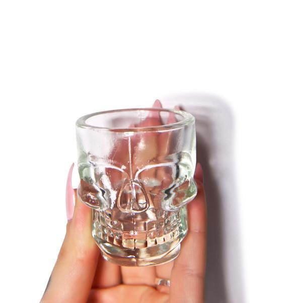 Gettin' Crazy Cranium Shot Glasses Set