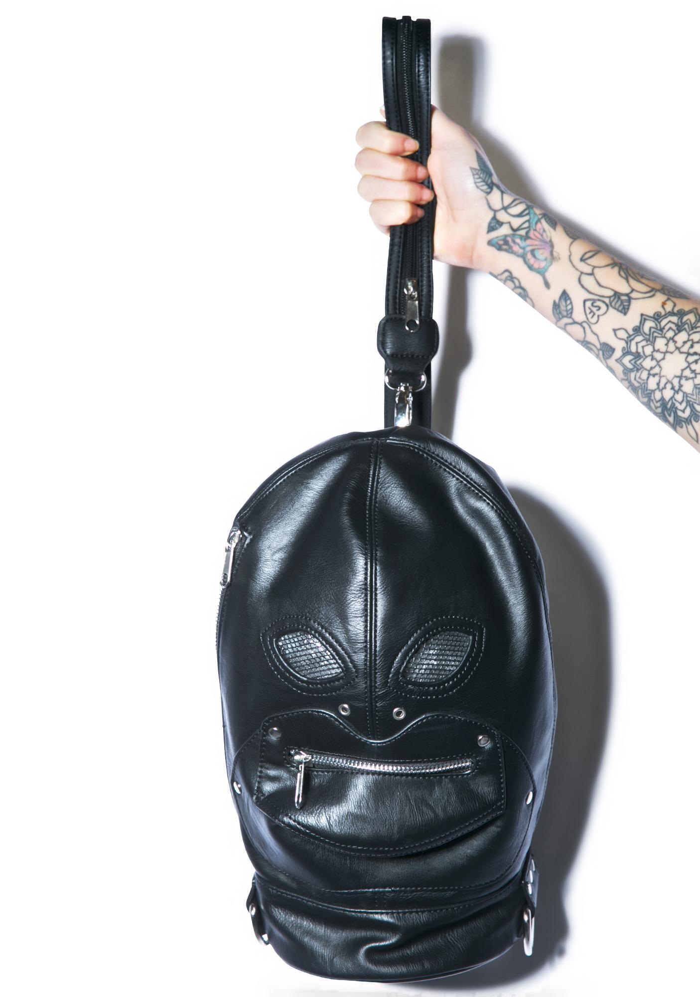 Current Mood Zipper Face Backpack