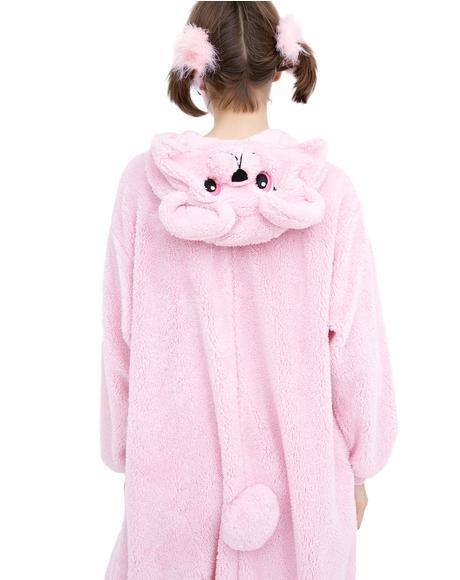 Pink Teddy Bear Kigurumi