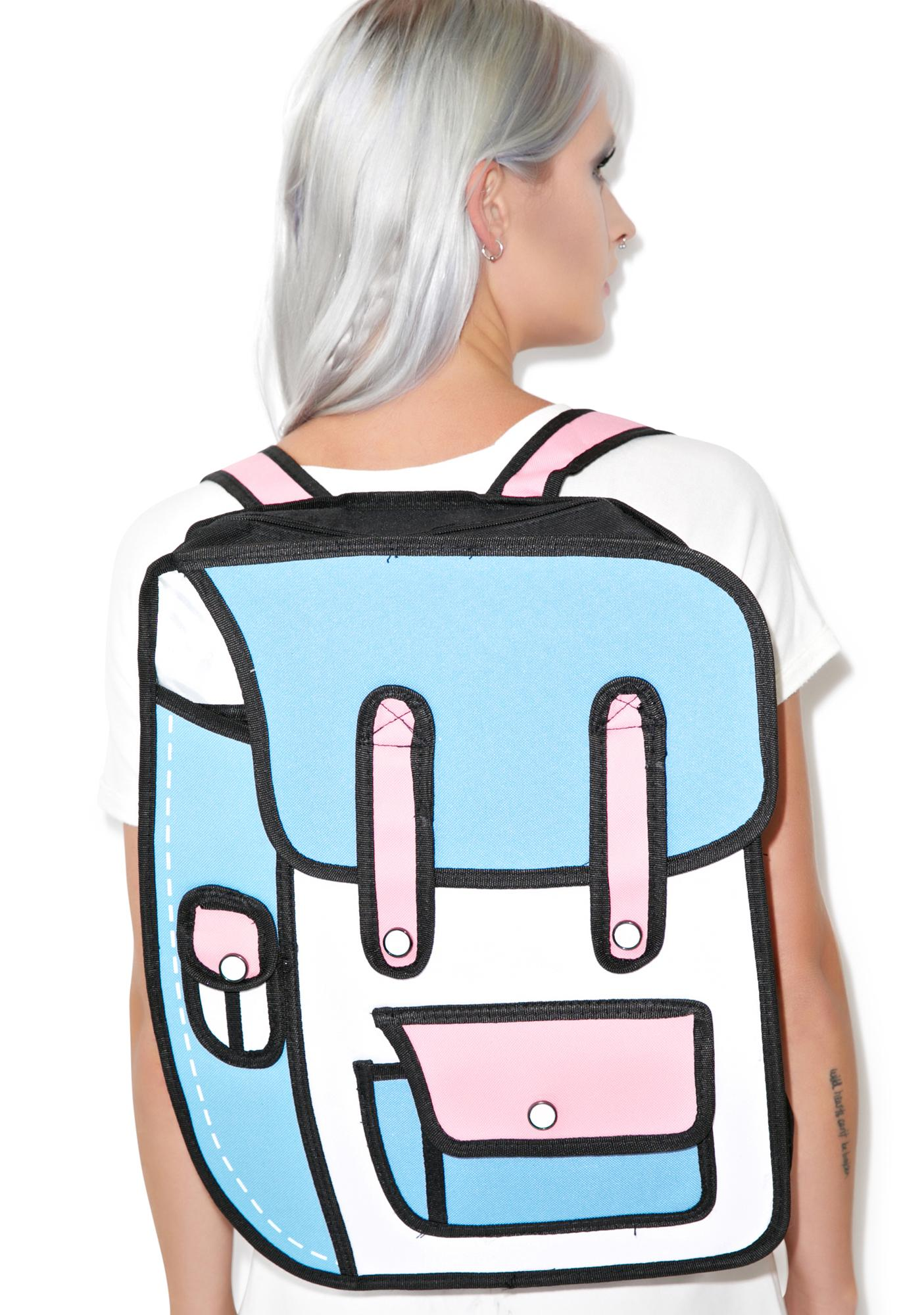 2 Delusional Cartoon Backpack