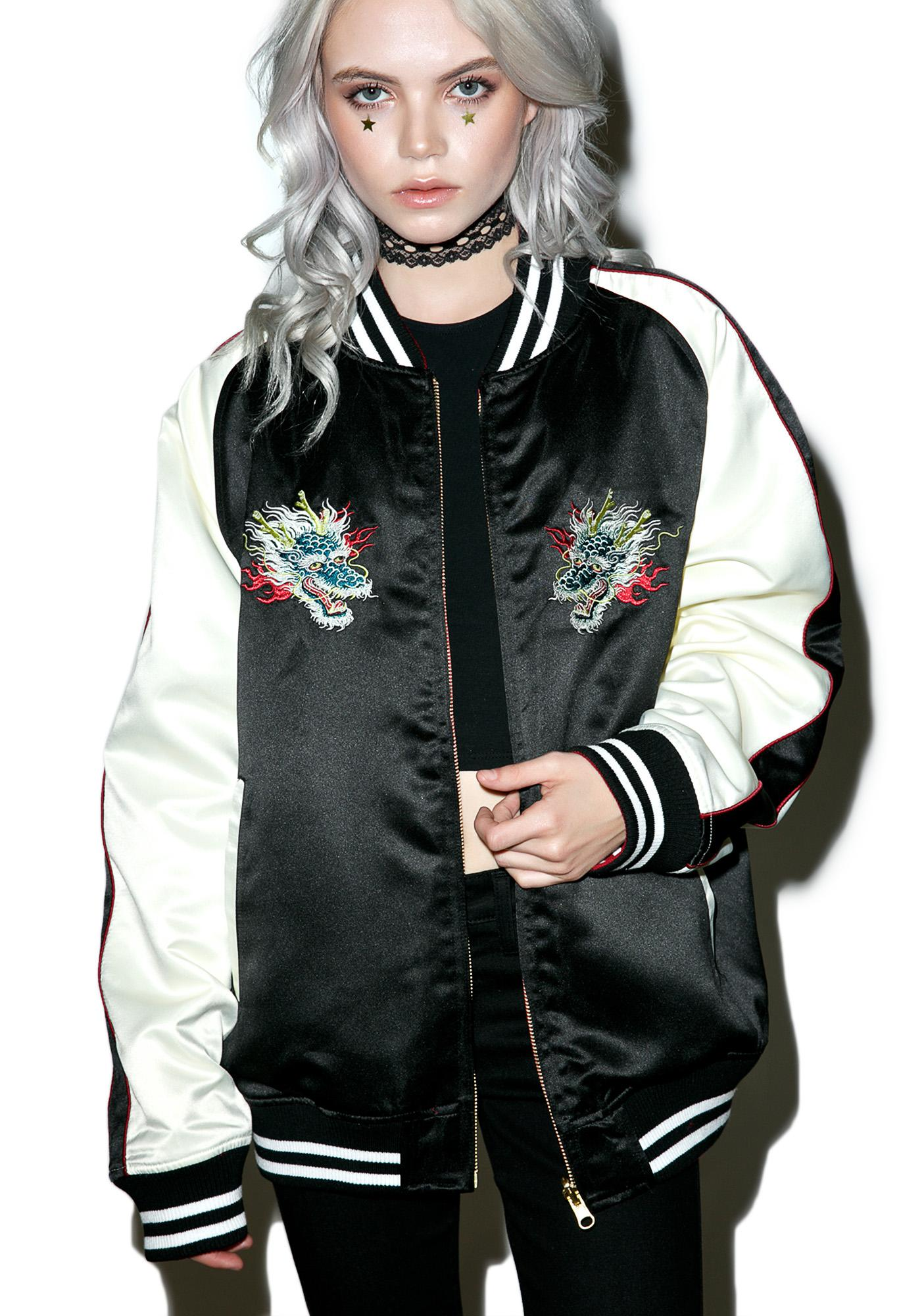 Pop Killer Ska Dragon Reversible Jacket