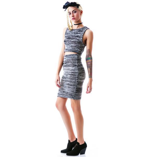 For Love & Lemons Sporty Knit Skirt