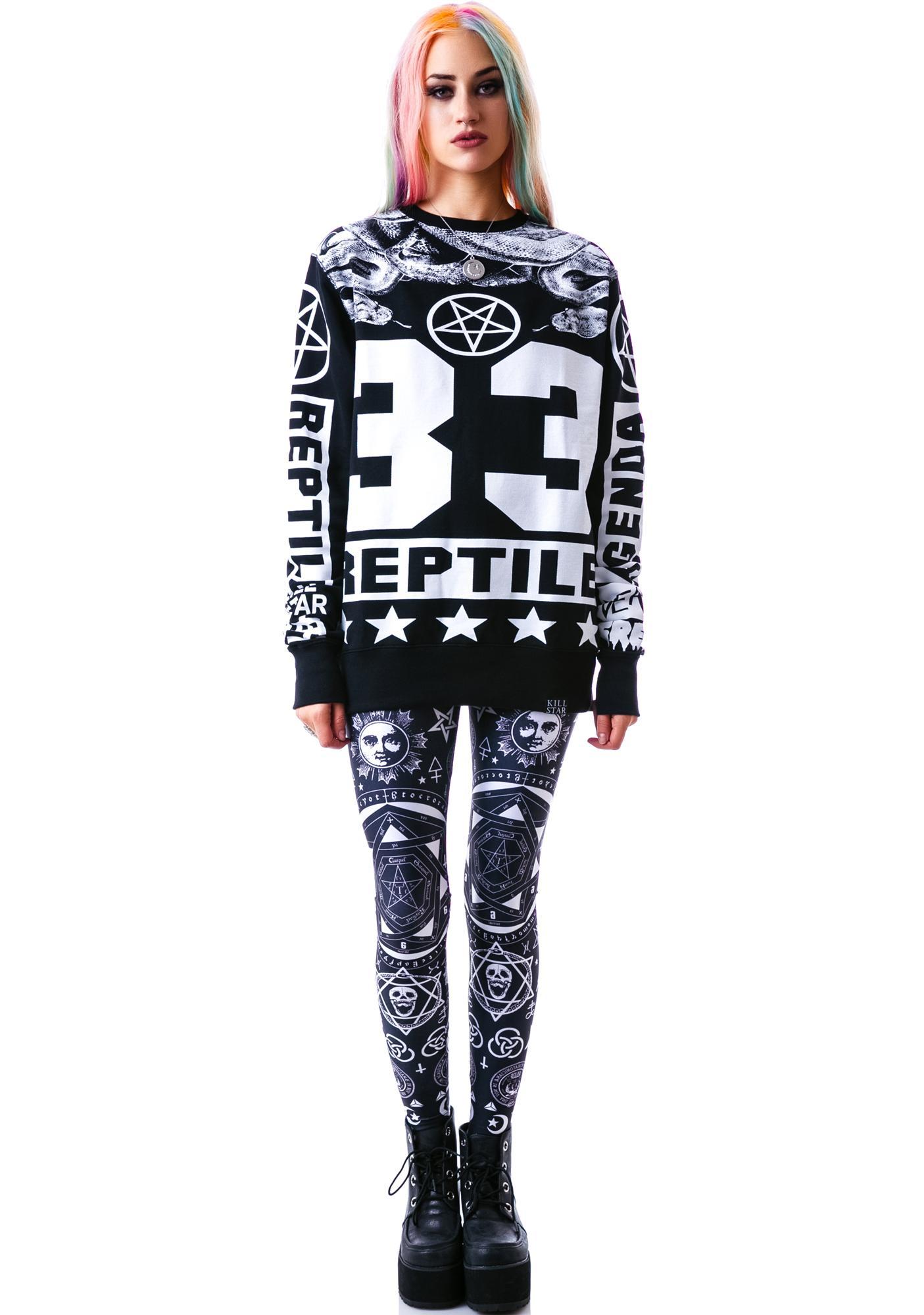 Killstar Reptile Sweatshirt