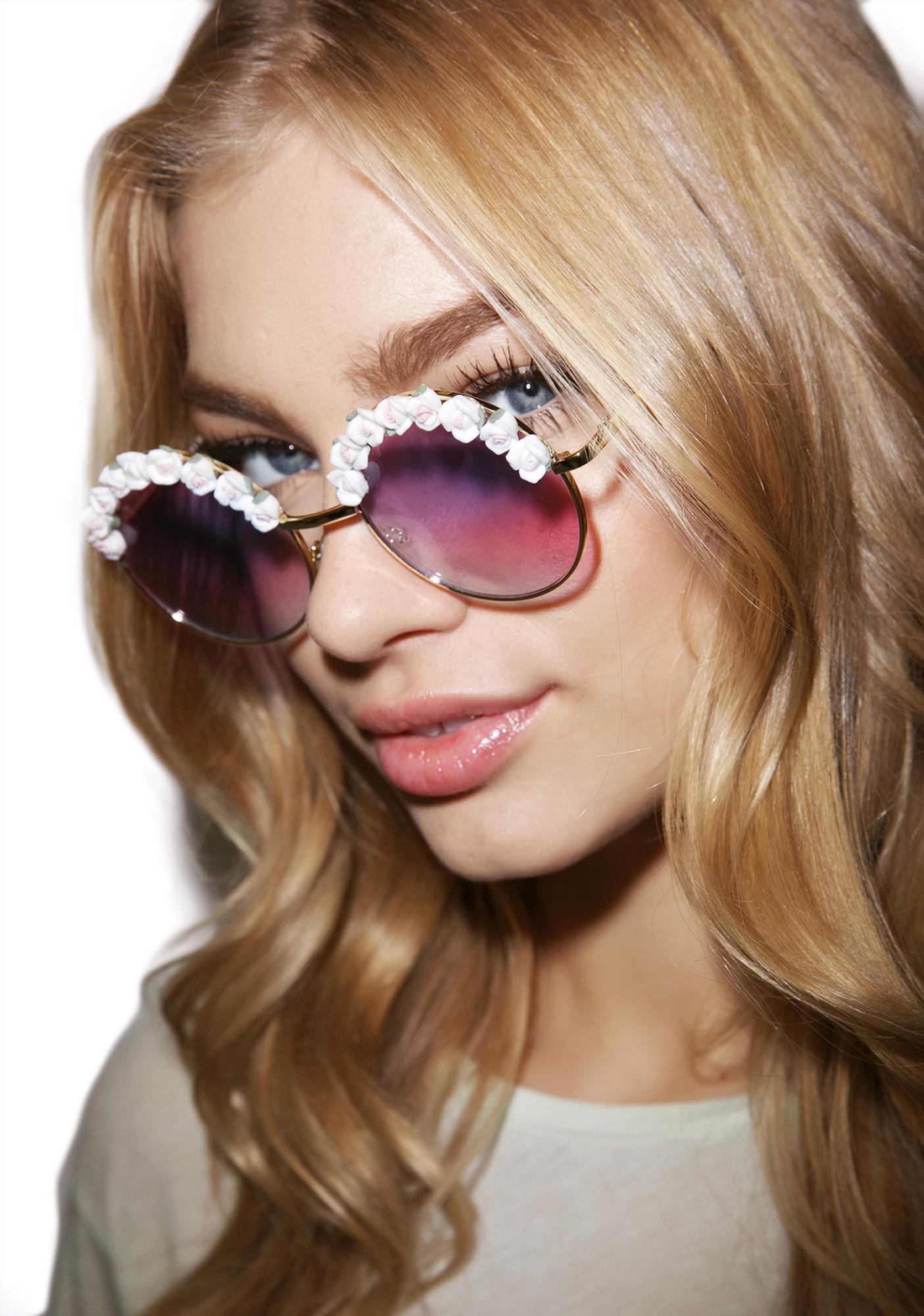 Tnemnroda Botanica Romantique Sunglasses