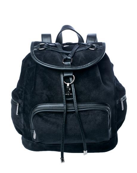Damsel Velvet Backpack