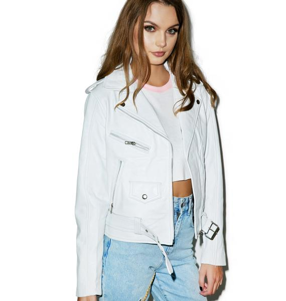 The Ragged Priest Believe Biker Jacket