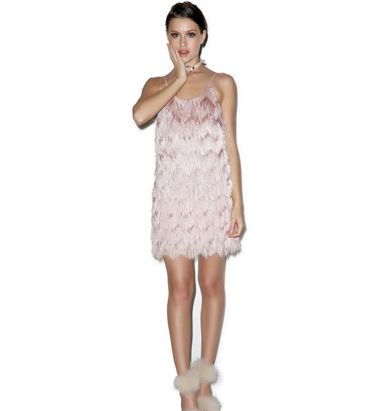 Glamorous Kiss It Better Fringed Dress