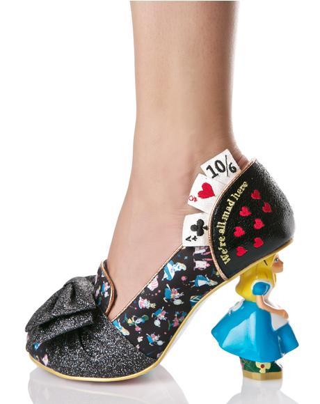 Wonderland This Way Heels