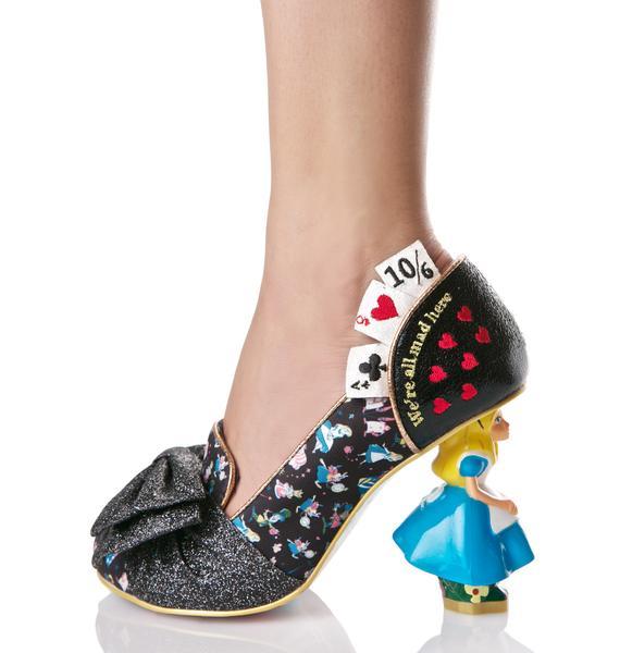 Irregular Choice Wonderland This Way Heels