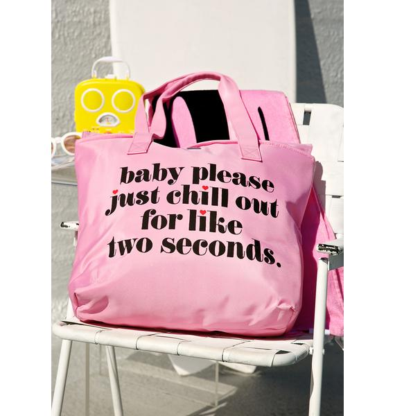 Just Chill Out Cooler Bag