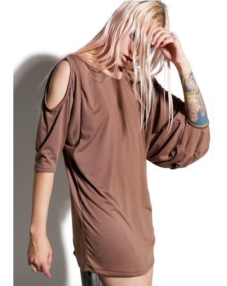 Runaway Draped Long Sleeve