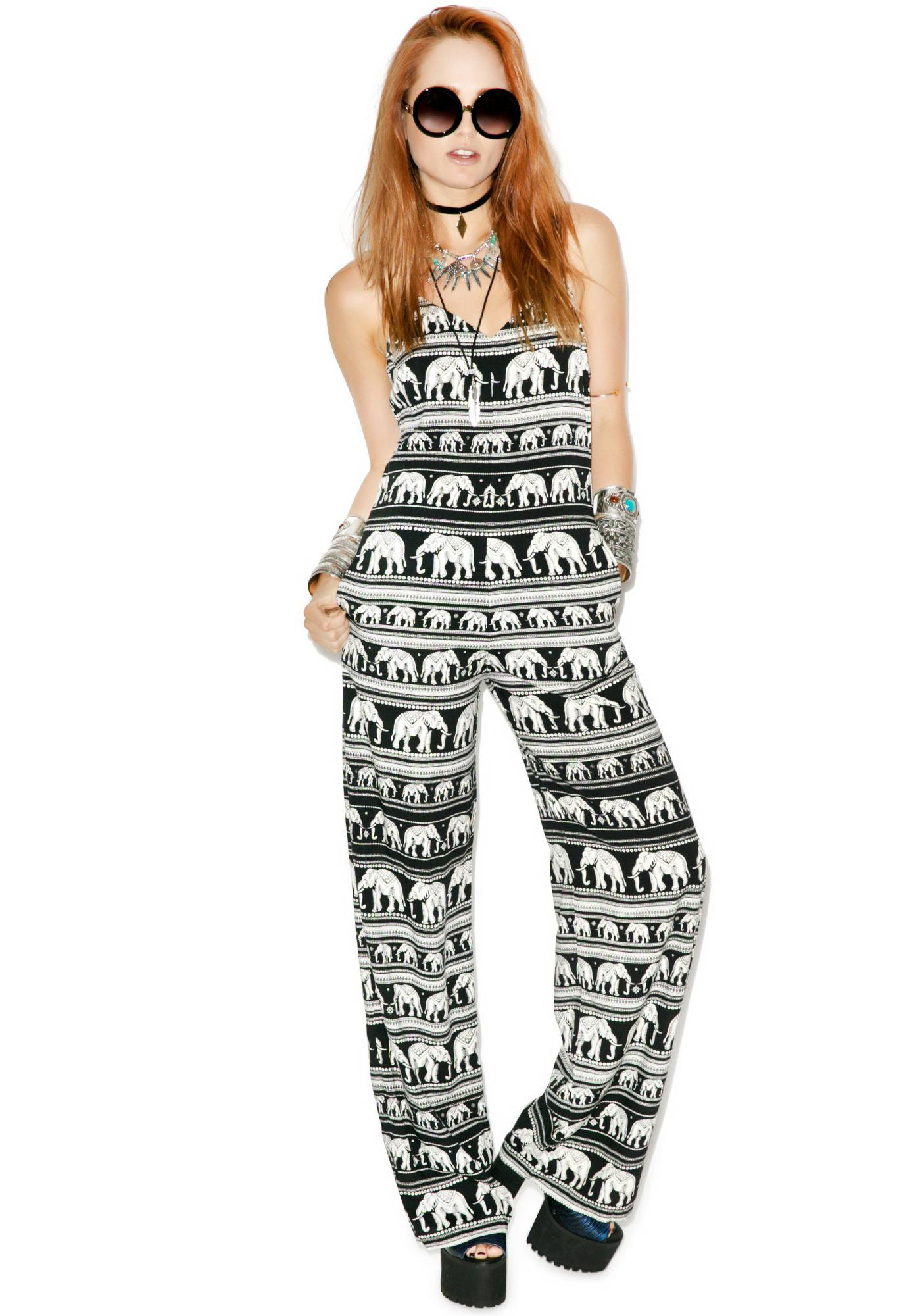 Motel Long Glory Jumpsuit
