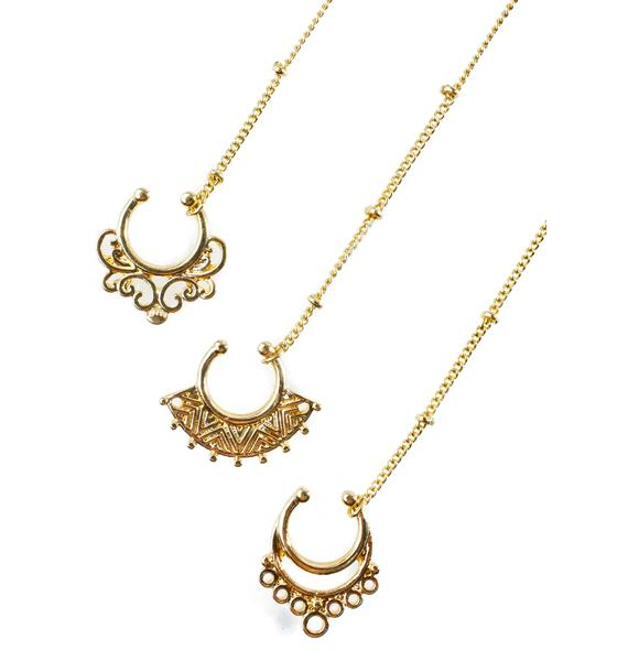 Divine Septum Ring Set