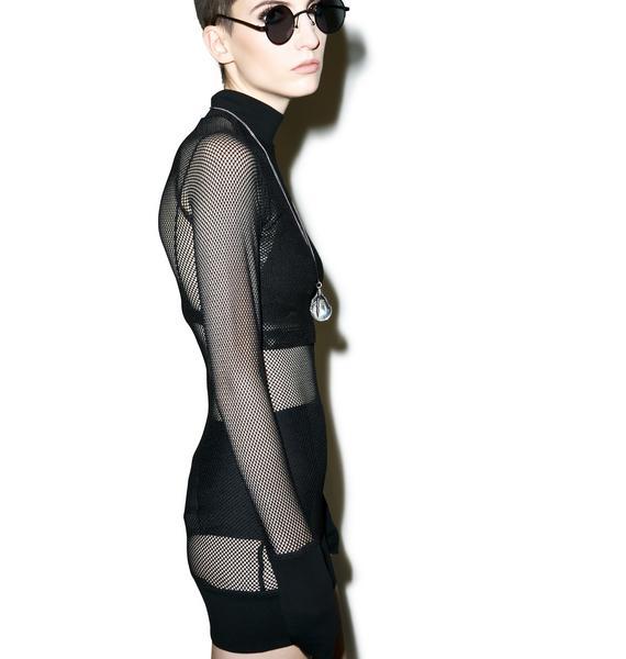 Killstar Omen Bodycon Dress