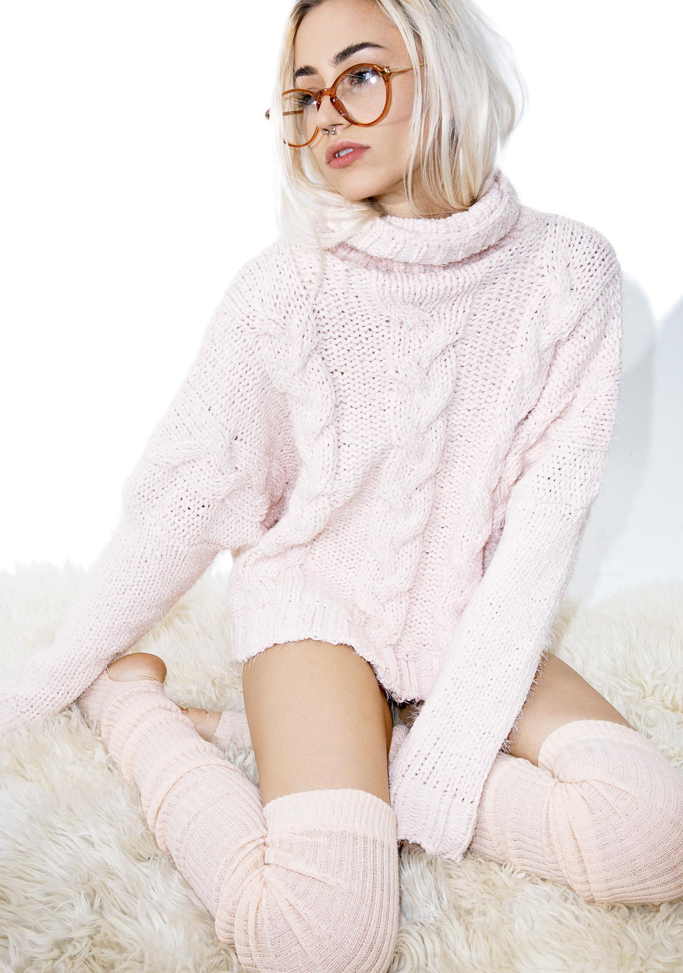 Candy Clouds Sweater