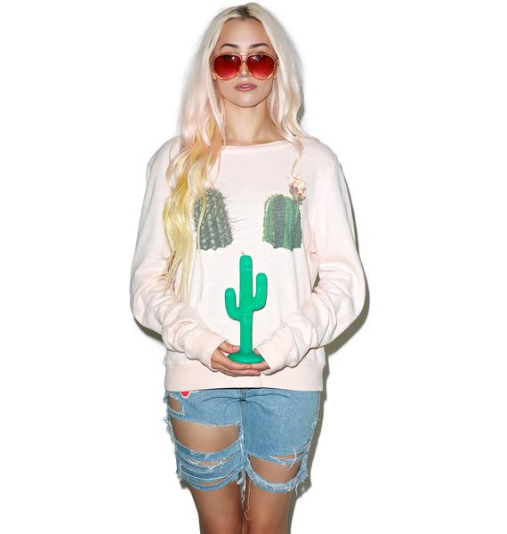 Wildfox Couture Don't Touch Baggy Beach Jumper