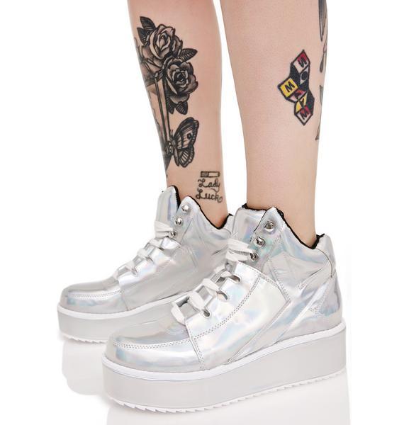 Y.R.U. Hologram Qozmo Lo Sneakers