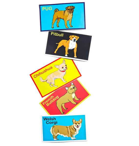 Dog LTD. Pug Sticker