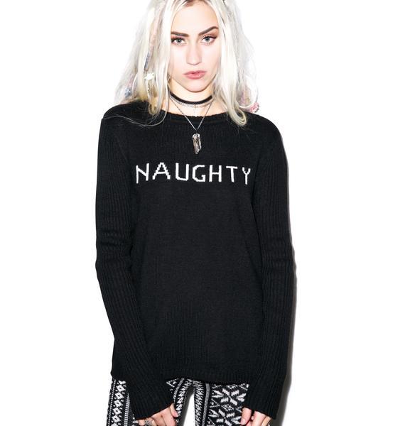For Love & Lemons Little Miss Naughty Sweater