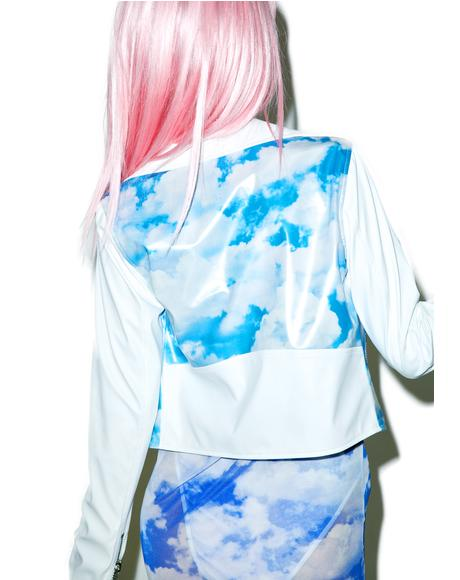 X Dolls Kill Cloudy Skies Moto Jacket