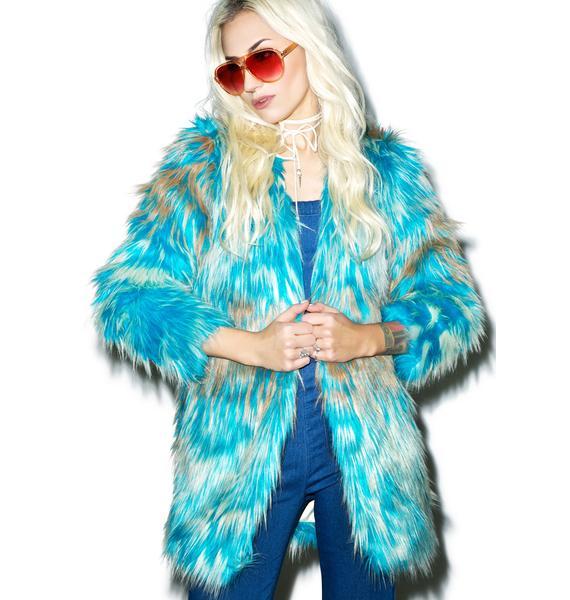 Glamorous Maxwell Faux Fur Coat