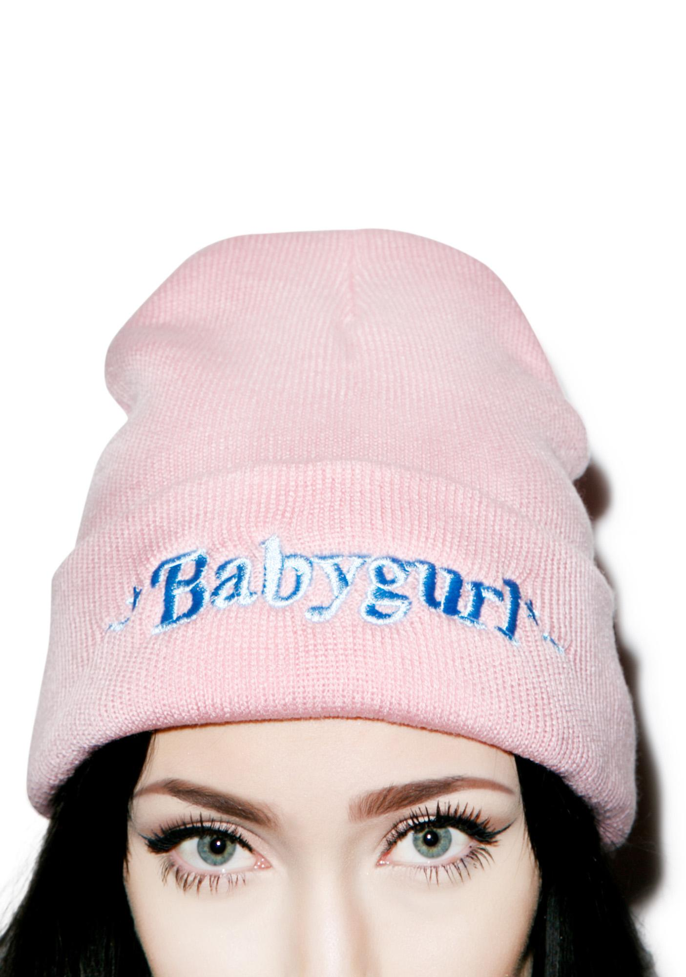 Danielle Guizio Baby Gurl Beanie