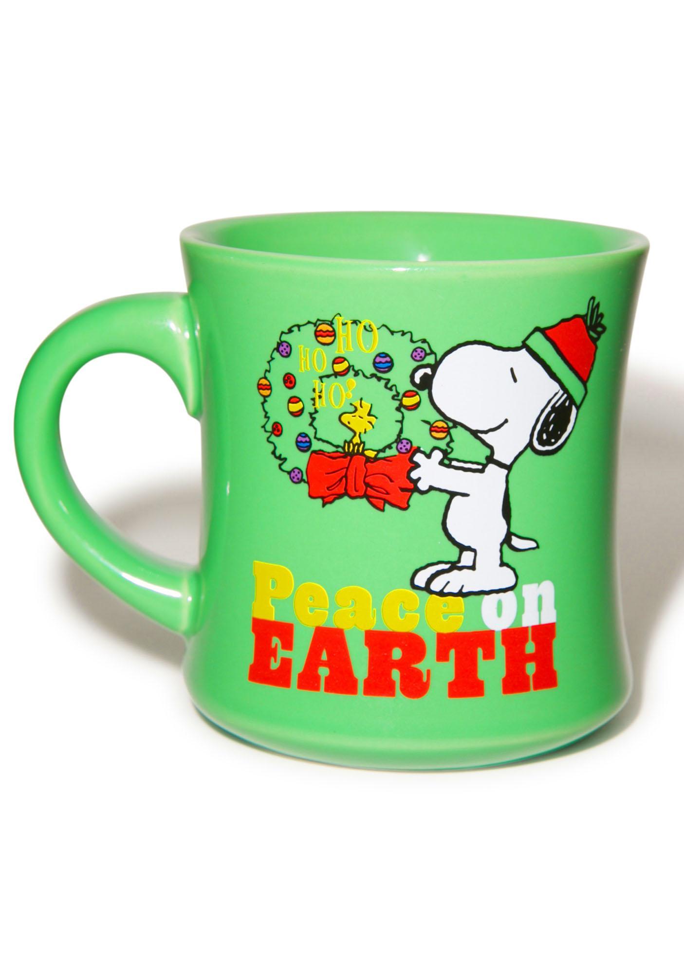 Peace On Earth Ceramic Mug