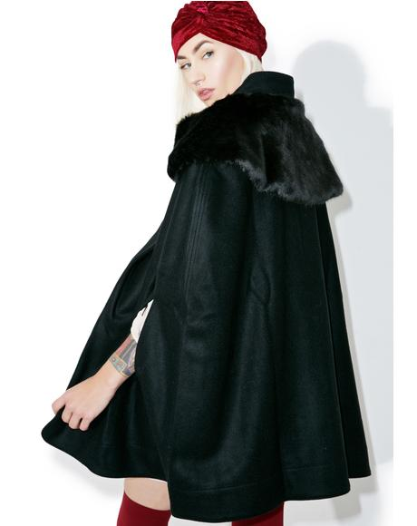Madeleine Cape Coat